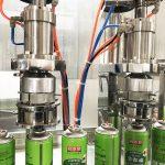 ब्यूटेन गैस कार्ट्रिज के लिए एरोसोल कैन फिलिंग मशीन