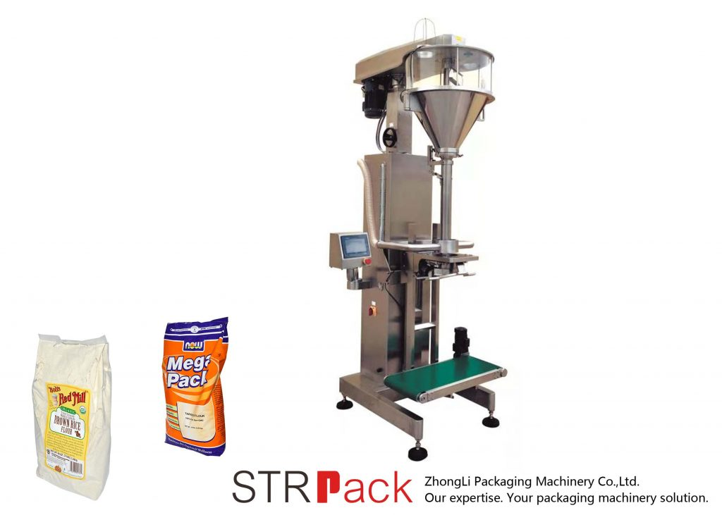 ऑनलाइन वजन के साथ बरमा पाउडर भरने की मशीन