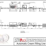 स्वचालित क्रीम भरने की रेखा