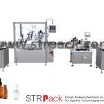 स्वचालित ड्रॉपर बोतल भरना और कैपिंग मशीन