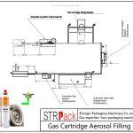 स्वचालित गैस कार्ट्रिज एरोसोल फिलिंग लाइन