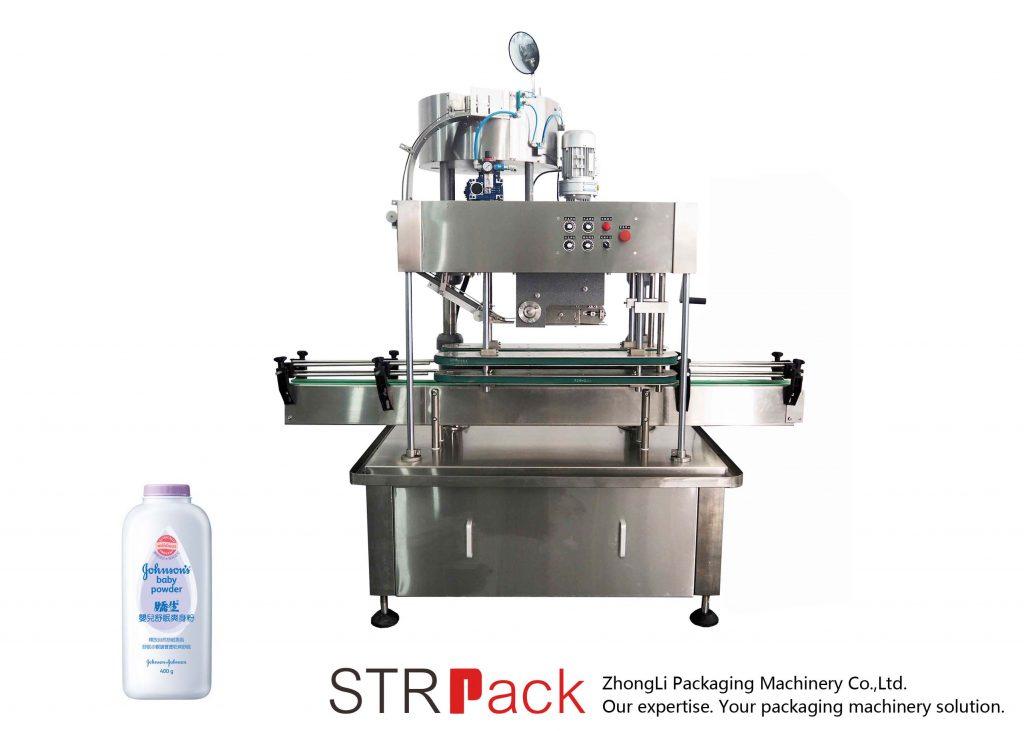 स्वचालित रैखिक कैपिंग मशीन (प्रेस कैप)