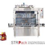 स्वचालित सॉस भरने की मशीन