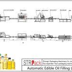 स्वचालित खाद्य तेल भरने की रेखा