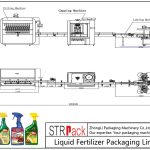 स्वचालित तरल उर्वरक पैकेजिंग लाइन