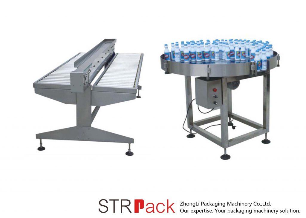 बोतल वर्किंग टेबल