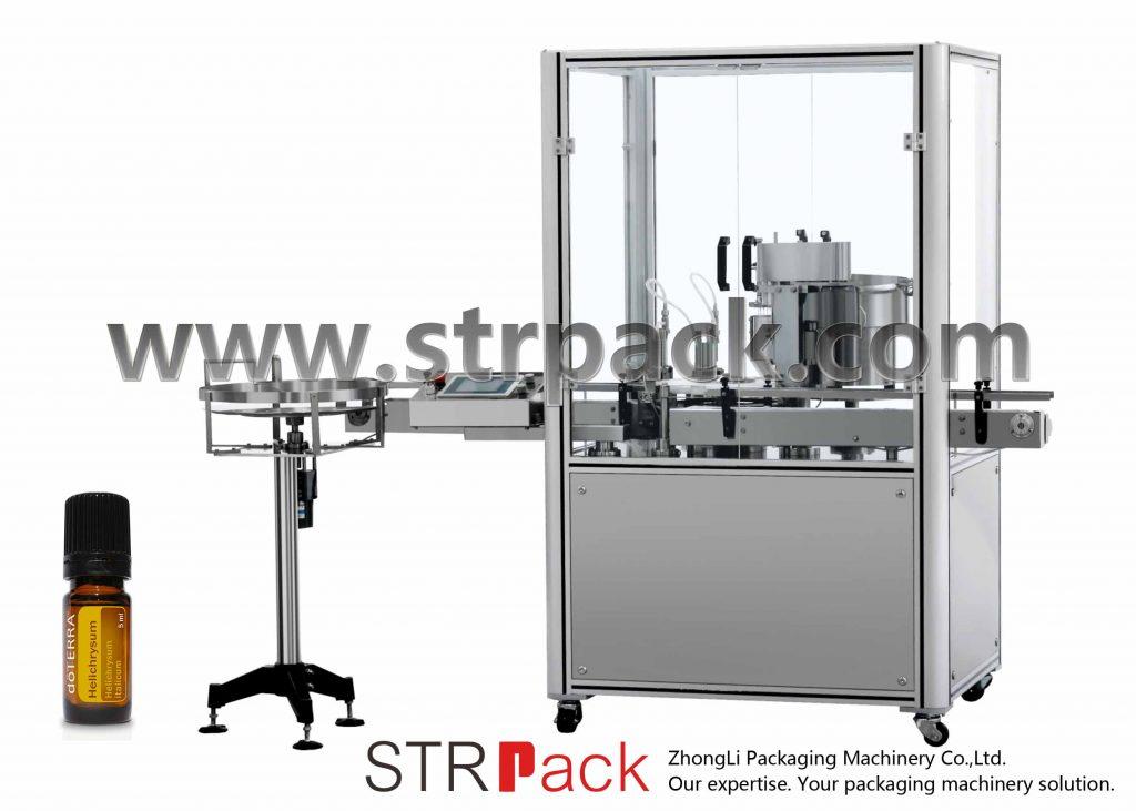 एसेंशियल ऑयल फिलिंग कैप प्रेसिंग मशीन