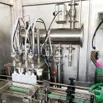 विस्फोट प्रूफ गोंद तरल बोतल भरने की मशीन कैपिंग मशीन लेबलिंग मशीन