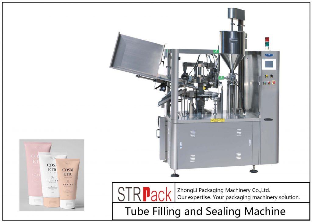 SFS-100 प्लास्टिक ट्यूब फिलिंग और सीलिंग मशीन