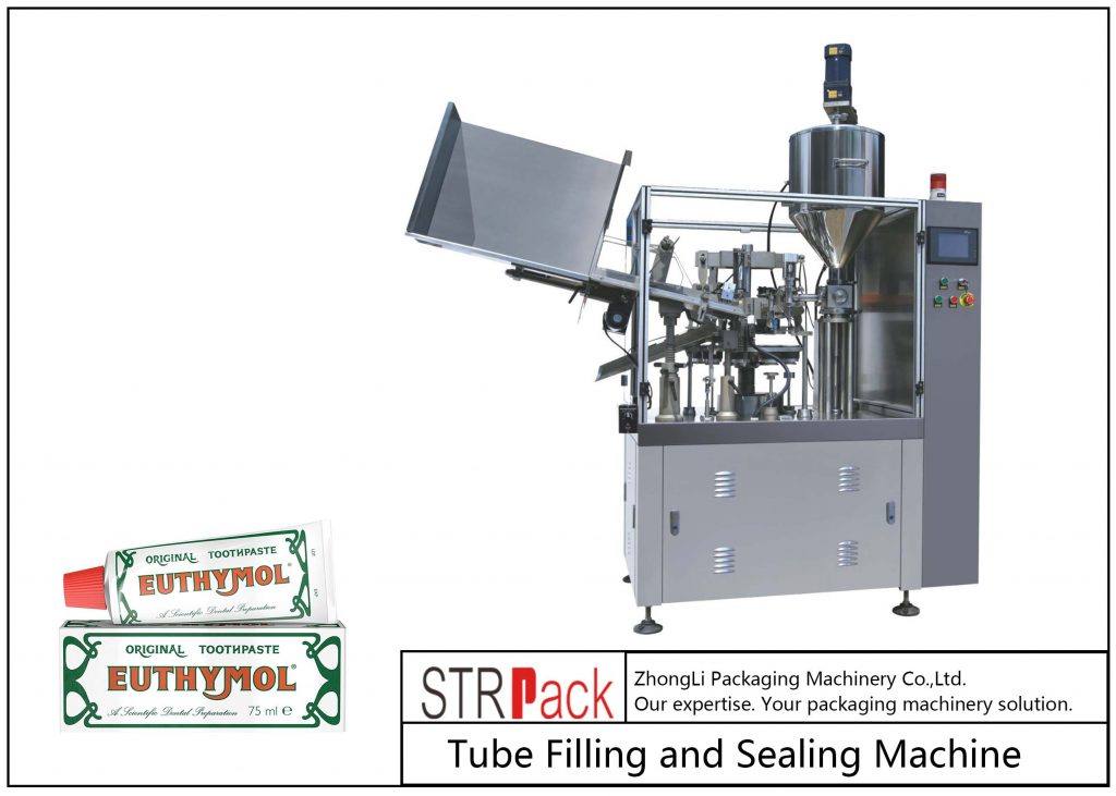 SFS-60Z मेटल ट्यूब फिलिंग और सीलिंग मशीन