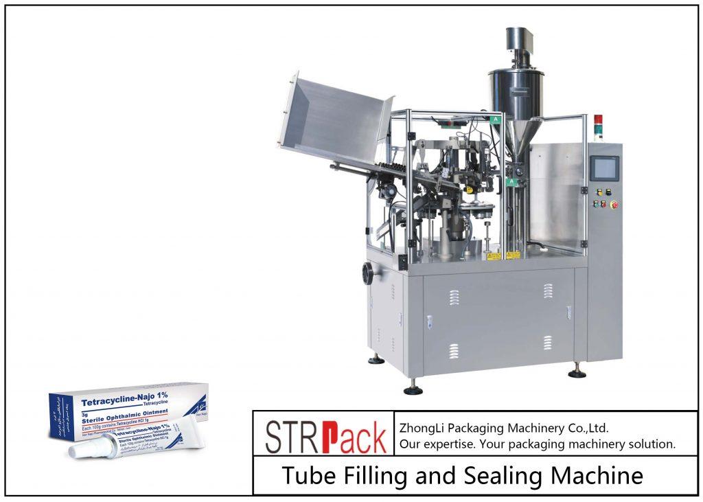 SFS-80Z मेटल ट्यूब फिलिंग और सीलिंग मशीन