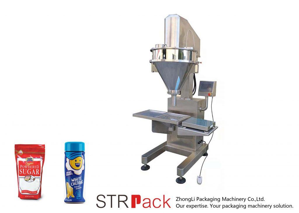Semiautomatic बरमा पाउडर भरने की मशीन