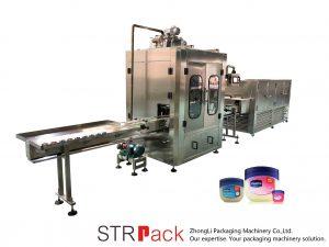 वैसलीन तरल भरने की मशीन